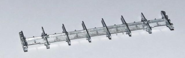 Рама модели полувагона 12-132, 12-296, 12-132-03
